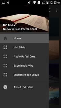 NVI Santa Biblia Nueva Versión Internacional poster