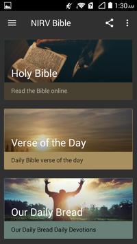 NIRV Holy Bible New International Reader's Version screenshot 1