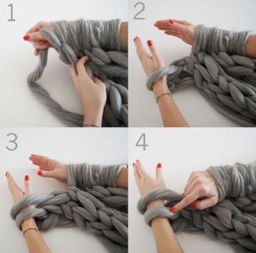 Arm Knitting Tutorial poster