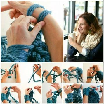 Arm Knitting Tutorial screenshot 1
