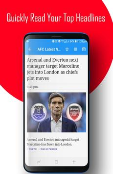 AFC - Arsenal FC News screenshot 5