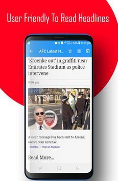 AFC - Arsenal FC News screenshot 7