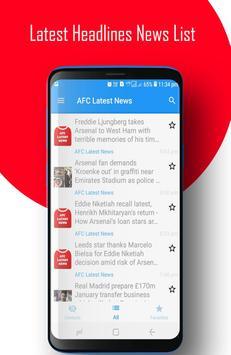 AFC - Arsenal FC News screenshot 1