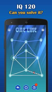 1 Schermata One Line Deluxe - one touch drawing puzzle