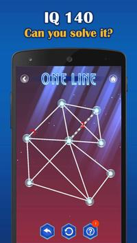 2 Schermata One Line Deluxe - one touch drawing puzzle
