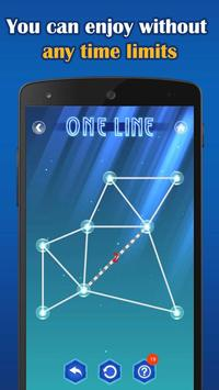 5 Schermata One Line Deluxe - one touch drawing puzzle