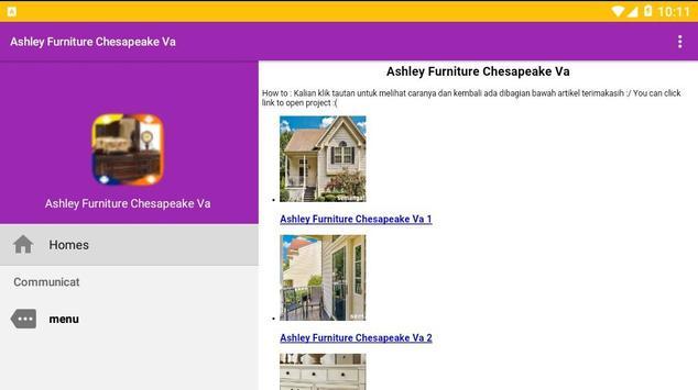 Ashley Furniture Chesapeake Va screenshot 1