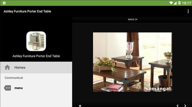 Ashley Furniture Porter End Table screenshot 1