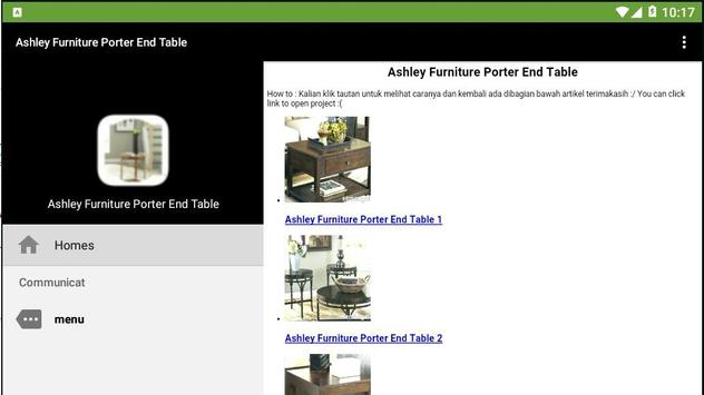 Ashley Furniture Porter End Table screenshot 2