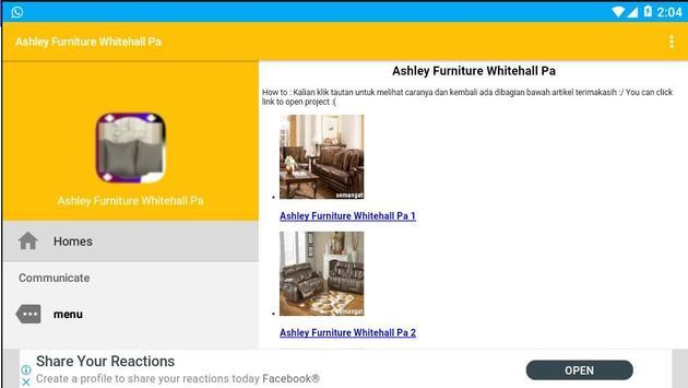 Ashley Furniture Whitehall Pa screenshot 1