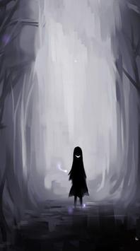Anime Wallpaper ALonely Sad screenshot 2