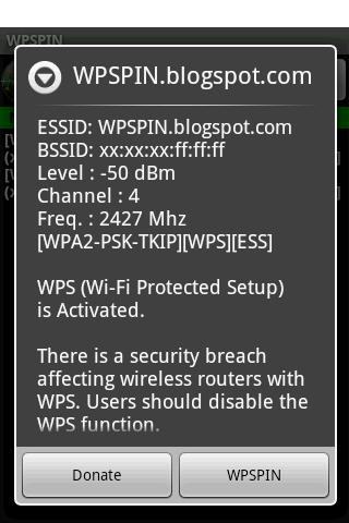 WPSPIN  WPS Wireless Scanner  for Android - APK Download