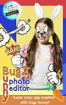 Bugz Bunny Photo Editor poster