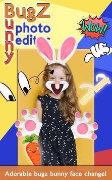 Bugz Bunny Photo Editor screenshot 2
