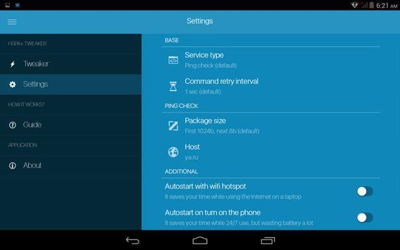 HSPA+ Tweaker screenshot 5