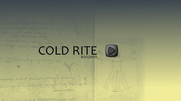COLD RITE poster