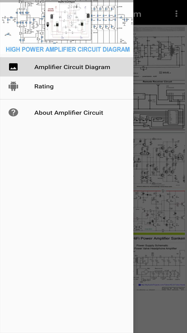 Amplifier Circuit Diagram for Android - APK Download on amplifier output diagram, audio amp schematic, power amp schematic, amplifier voltage gain, amplifier circuit project, amplifier circuit component, amplifier circuit design, amplifier parts, voltage amplifier schematic, stereo amplifier schematic, power transistor schematic, 2n3055 amplifier schematic, amplifier circuit connection, amplifier circuits using transistors, amplifier circuit board, amplifier circuit voltage, amplifier schematic diagram, amplifier circuit diagram, amplifier circuit switch, metal detector schematic,