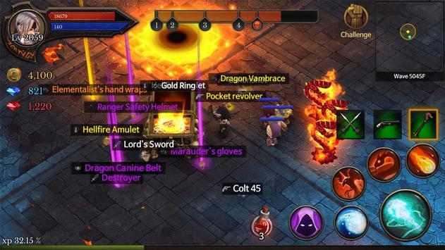 Dungeon Chronicle Cartaz