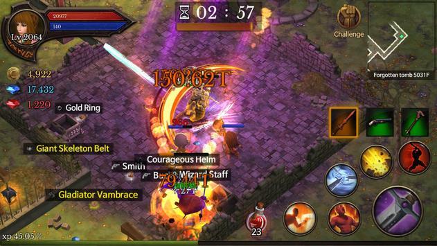 Dungeon Chronicle imagem de tela 2