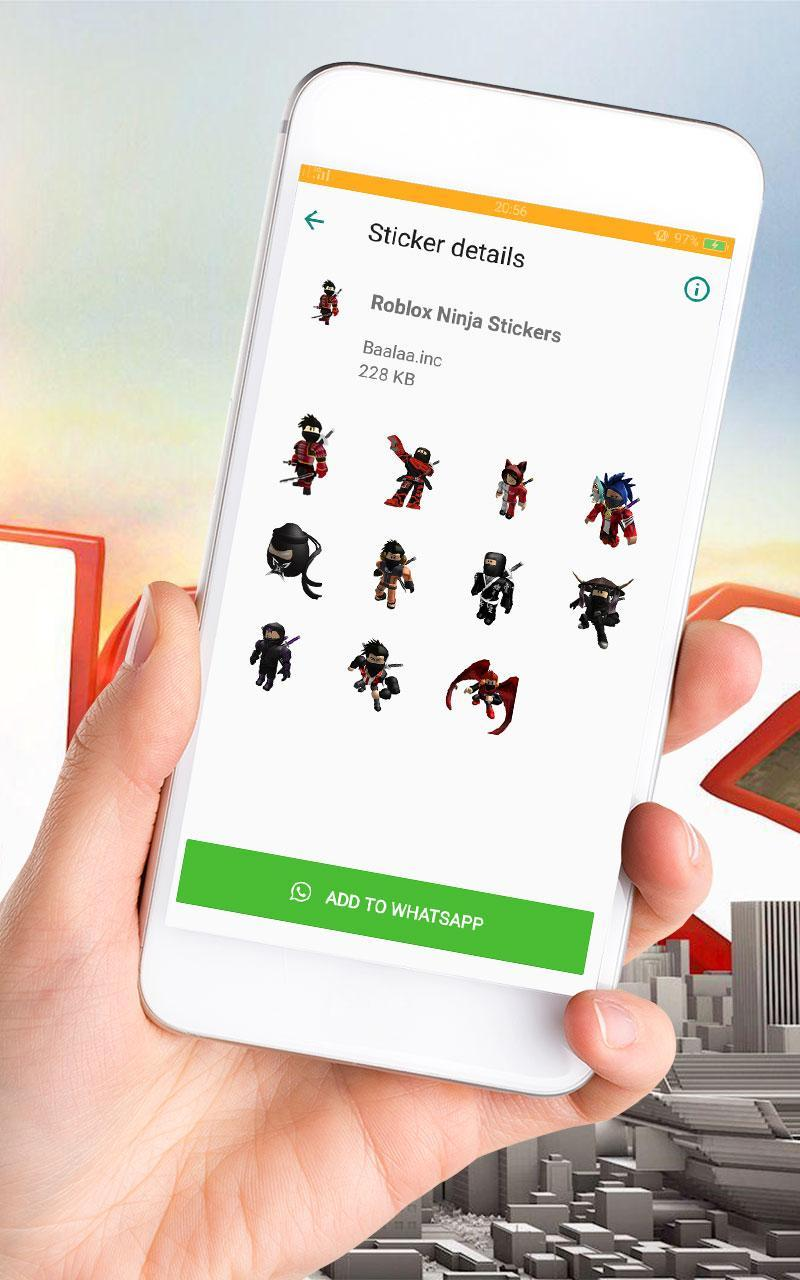 Roblox Stickers For Whatsapp Wastickerapp Apkonline Wastickerapp Roblox Stickers For Whatsapp For Android Apk Download