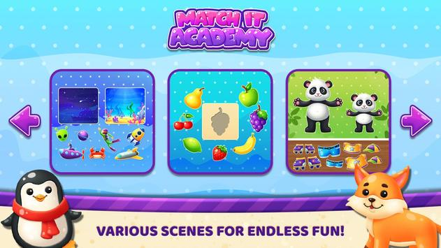 Match It Academy – Learn Shapes & Colors for Kids poster