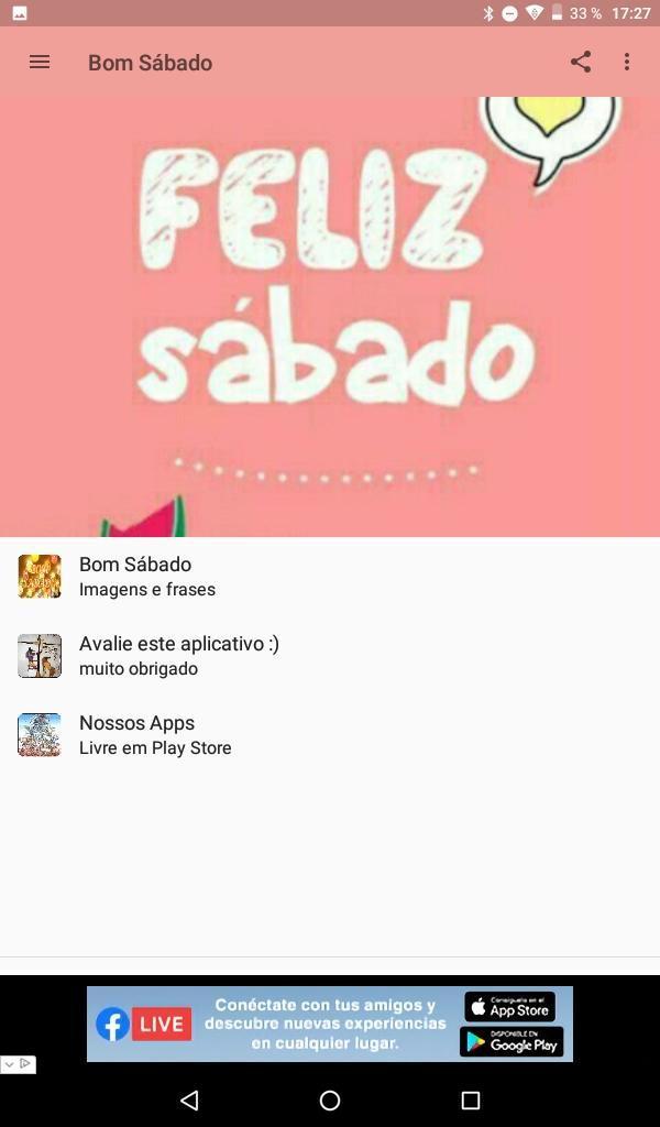 Bom Sabado для андроид скачать Apk
