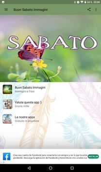 Buon Sabato Immagini screenshot 1