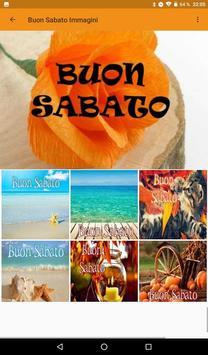 Buon Sabato Immagini screenshot 2