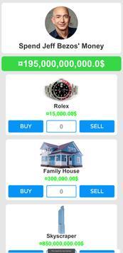 Spend Jeff Bezos' Money - Simulation Idle Tycoon screenshot 4