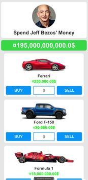 Spend Jeff Bezos' Money - Simulation Idle Tycoon screenshot 2