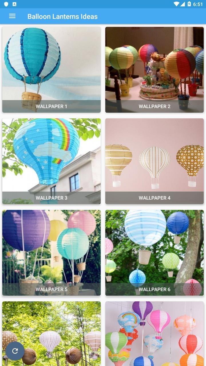 Balloon Lanterns Ideas poster