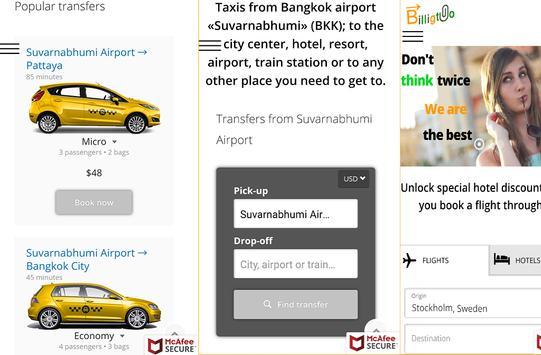 Bangkok Airport Taxi screenshot 5