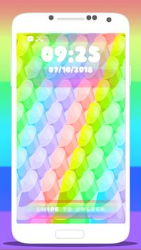 🦄 Rainbow Unicorn Wallpaper Lock Screen App 🦄 screenshot 4
