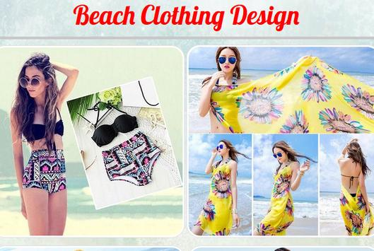 Beach Clothing Design poster