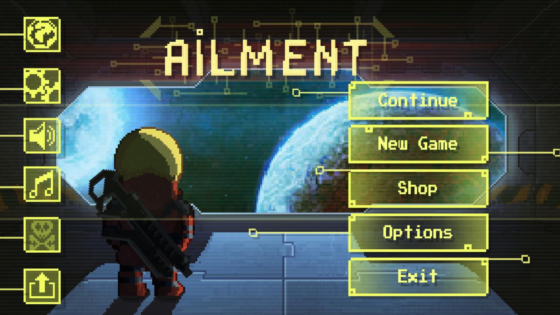 Resultado de imagen para ailment game menu