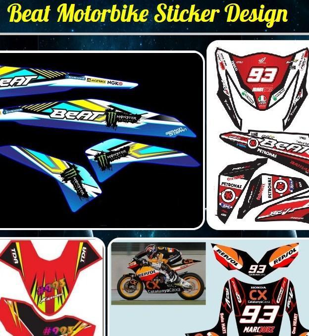 Beat Motorrad Aufkleber Design Für Android Apk Herunterladen