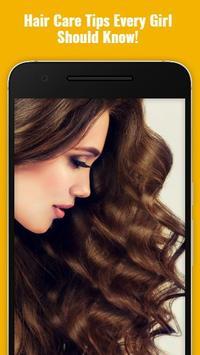 Hair Care Tips & Tricks Guide poster