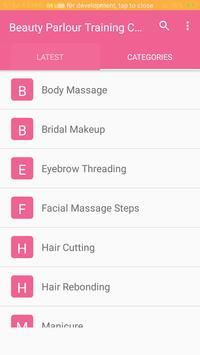 Beauty Parlour Training Course screenshot 2