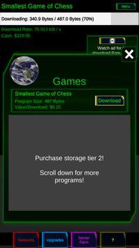 Idle Downloader screenshot 1