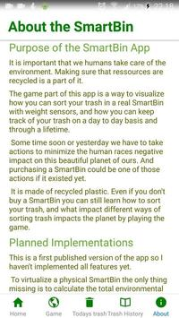 The SmartBin App screenshot 3