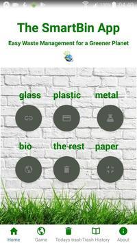 The SmartBin App poster