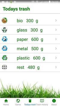 The SmartBin App screenshot 2