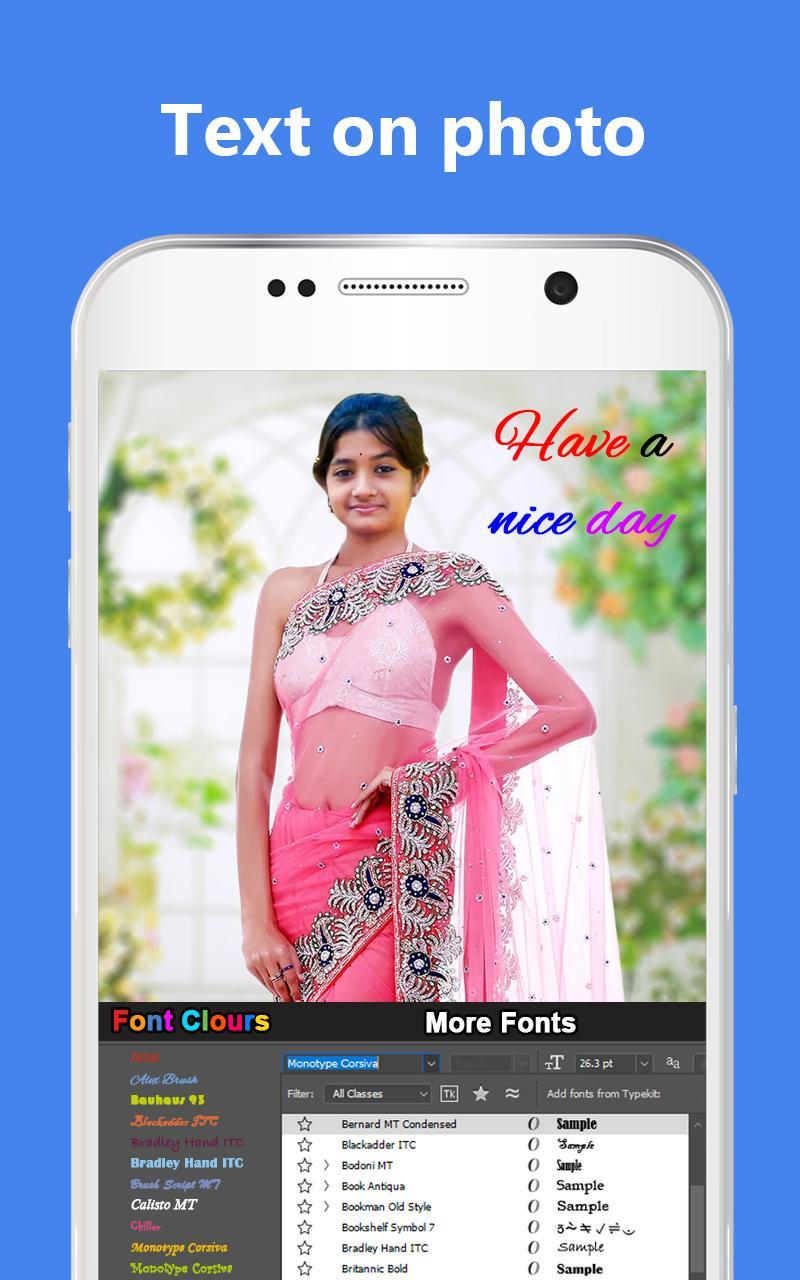 Net Saree Photo Suit Editor For Women for Android - APK Download