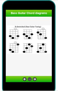 bass guitar chord diagrams screenshot 2