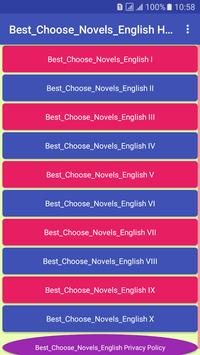 Best_Choose_Novels_English poster