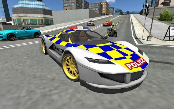 Police Cop Car Simulator : City Missions screenshot 17