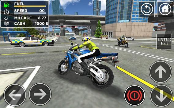 Police Cop Car Simulator : City Missions screenshot 14