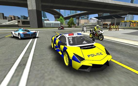 Police Cop Car Simulator : City Missions screenshot 16
