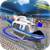 City Helicopter Flight icon