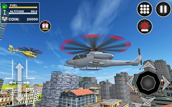 City Helicopter Flight screenshot 2